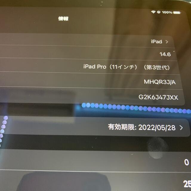 Apple(アップル)の値下げ!iPad Pro11 第3世代 m1チップ搭載 スマホ/家電/カメラのPC/タブレット(タブレット)の商品写真