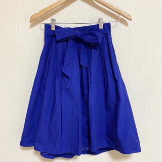 テチチ(Techichi)のリボン付きひざ丈スカート(ひざ丈スカート)