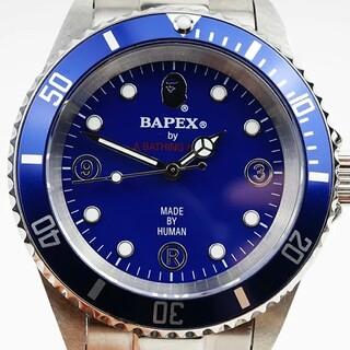 アベイシングエイプ(A BATHING APE)の【新品】A BATHING APE/ア・ベイシング・エイプ Bapex T001(腕時計(アナログ))