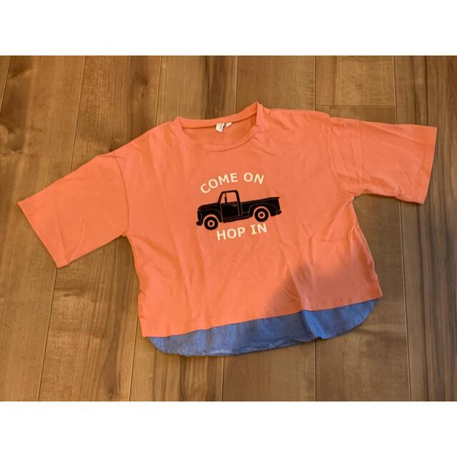 LAGOM(ラーゴム)のサマンサモスモス SM2 LAGOM Tシャツ キッズ 130cm キッズ/ベビー/マタニティのキッズ服男の子用(90cm~)(Tシャツ/カットソー)の商品写真