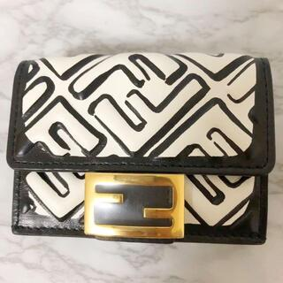 フェンディ(FENDI)の【超レア】新品未使用 FENDI 三つ折り財布 エフイズフェンディ(財布)