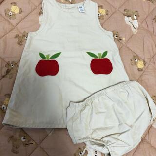 ベビーギャップ(babyGAP)のギャップ GAP リンゴ ワンピース(ワンピース)
