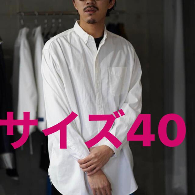 COMOLI(コモリ)のauberge BIG BROOKS メンズのトップス(シャツ)の商品写真