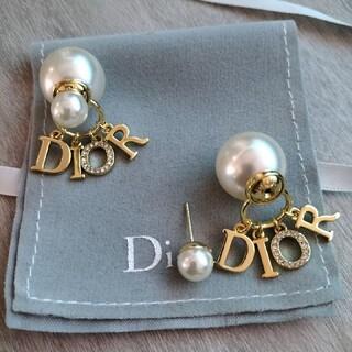 ディオール(Dior)のDIOR パール イヤリング ピアス(ピアス)