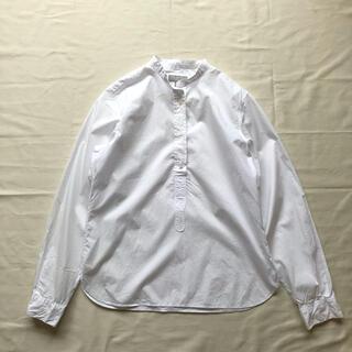 MARGARET HOWELL - マーガレットハウエル フェイバリットシャツ日本製ブラウス白シャツMARGARET