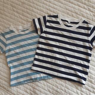ムジルシリョウヒン(MUJI (無印良品))の無印良品Tシャツ2枚セット☆90(Tシャツ/カットソー)