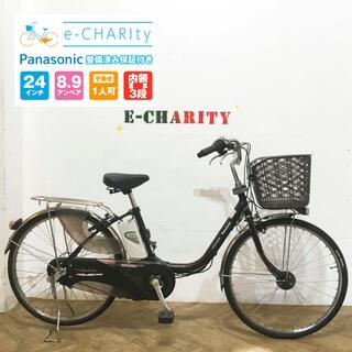 パナソニック(Panasonic)のKA074☆電動自転車☆パナソニック ViVi EX☆24インチ☆(自転車本体)