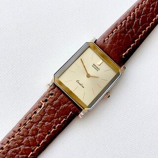 セイコー(SEIKO)のSEIKO  EXCELINE  レディースクォーツ時計 稼動 ベルト未使用2針(腕時計)