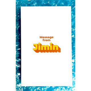 防弾少年団(BTS) - BTS butter  ジミン メッセージカード CD