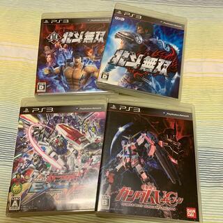 BANDAI - 機動戦士ガンダムUC 北斗無双等 PS3  ソフト4本セット