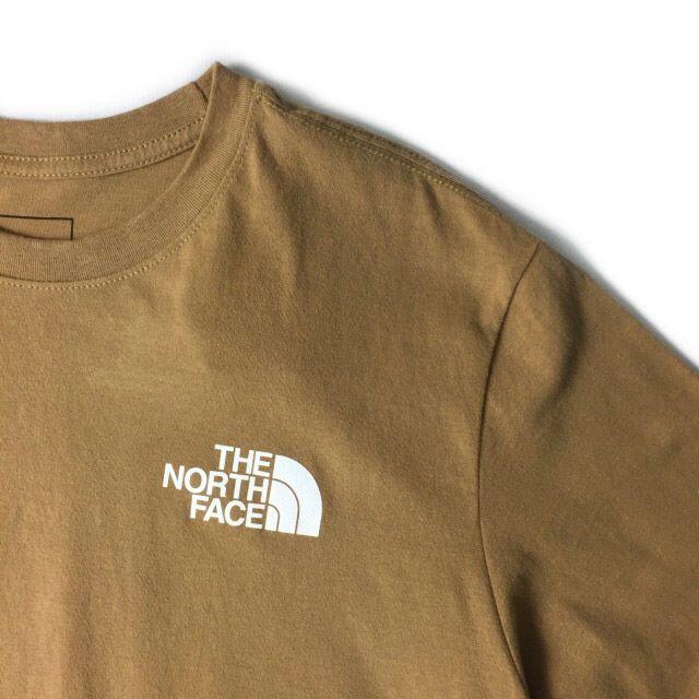 THE NORTH FACE(ザノースフェイス)のノースフェイス 半袖 Tシャツ ハーフドームロゴ(XL)茶 180902-13 メンズのトップス(Tシャツ/カットソー(半袖/袖なし))の商品写真