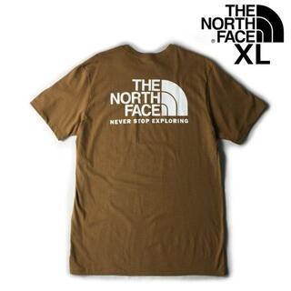 THE NORTH FACE - ノースフェイス 半袖 Tシャツ ハーフドームロゴ(XL)茶 180902-13