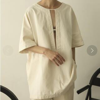 トゥデイフル(TODAYFUL)のTODAYFUL トゥデイフル cotton pique blouse(シャツ/ブラウス(長袖/七分))
