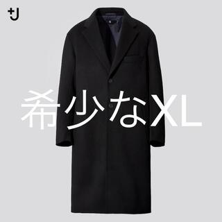 UNIQLO - 希少なXL UNIQLO +J カシミヤブレンドオーバーサイズチェスターコート