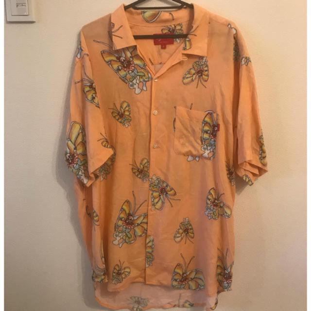 Supreme(シュプリーム)の【L】supreme gonz butterfly rayon shirt レア メンズのトップス(シャツ)の商品写真