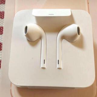 アップル(Apple)の新品 アップル 純正 iPhone 8 付属品 イヤホン ライニングタイプ(ヘッドフォン/イヤフォン)