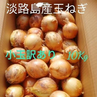 ●小玉訳あり10Kg●淡路島玉ねぎ たまねぎ 玉葱(野菜)