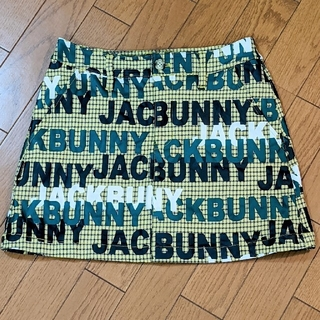 PEARLY GATES - Jack Bunny❤︎先染めチェック+ロゴプリントスカート❤︎美品