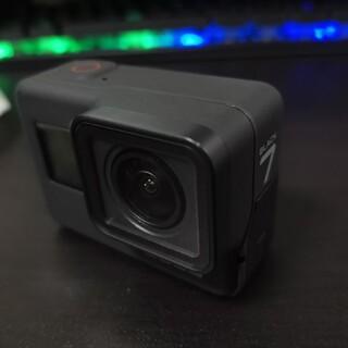 GoPro - GoPro HERO7 black 中古 アクセサリー付