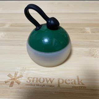 Snow Peak - スノーピーク   たねほおずき LEDランタン グリーン snow peak