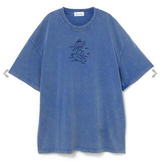 ペコクラブ(PECO CLUB)のアシッドウォッシュTシャツ(Tシャツ(半袖/袖なし))