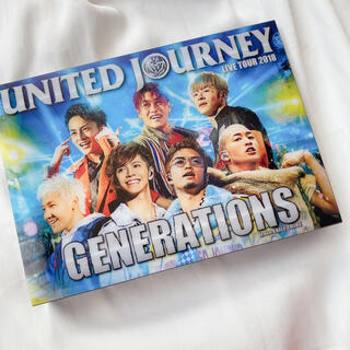 GENERATIONS - GENERATIONS DVD ユナイテッドジャーニー