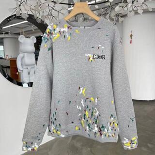 ディオール(Dior)のDIOR オーバーサイズ スウェットシャツ(スウェット)