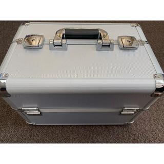 メイクボックス 大容量 プロ用 鍵付き コスメボックス(メイクボックス)