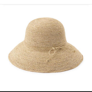 ムジルシリョウヒン(MUJI (無印良品))の無印良品 ラフィア つば広帽子 55~57.5cm・生成(麦わら帽子/ストローハット)