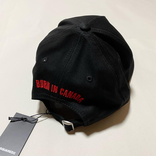 DSQUARED2(ディースクエアード)の新品未使用!送料込み★DSQUARED2★キャップ レッドタグ メンズの帽子(キャップ)の商品写真