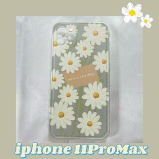❁デイジーフラワー iPhone11ProMaxスマホケース ラスト1点❗️