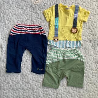 キムラタン(キムラタン)のキムラタン ピッコロ 夏服セット 80cm(Tシャツ)