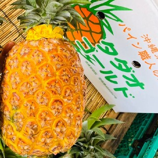 【パイン職人!!】☆タダオゴールド大玉( 3玉 )1.8キロ以上(フルーツ)