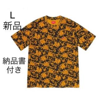 シュプリーム(Supreme)のSupreme Small Box Tee Black フローラル L Tシャツ(Tシャツ/カットソー(半袖/袖なし))