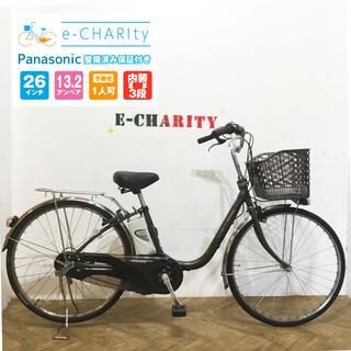 パナソニック(Panasonic)のKA077☆電動自転車☆パナソニック ViVi EX☆26インチ☆(自転車本体)