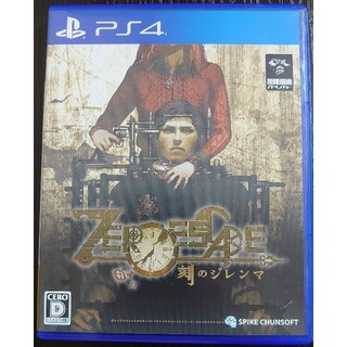 プレイステーション4(PlayStation4)のZERO ESCAPE 刻のジレンマ PS4 ソフト(家庭用ゲームソフト)