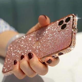 【新品未使用】iphone12 スマホケース キラキラ ゴージャス バンパー