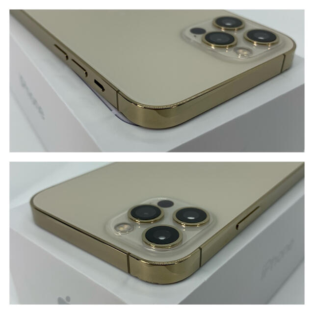Apple(アップル)の【ほぼ新品】iPhone 12 pro 512 GB SIMフリー Gold スマホ/家電/カメラのスマートフォン/携帯電話(スマートフォン本体)の商品写真