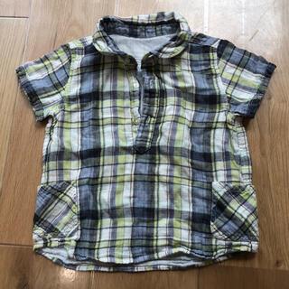 ムジルシリョウヒン(MUJI (無印良品))の80cm 無印 半袖シャツ風(Tシャツ)