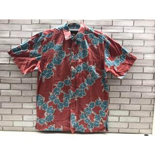 コストコ(コストコ)の【新品】US-S/COOKE STREET アロハシャツ メンズ レッド(シャツ)