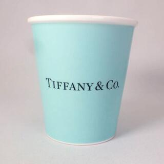 ティファニー(Tiffany & Co.)のティファニー 紙コップ マグ ボーンチャイナ カップ[g505-1](グラス/カップ)