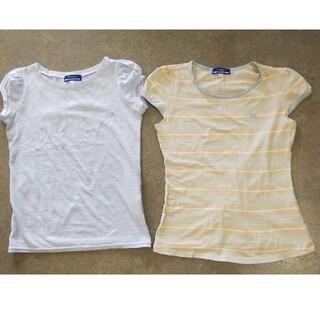 バーバリー(BURBERRY)のバーバリートップス2枚セット(Tシャツ(半袖/袖なし))