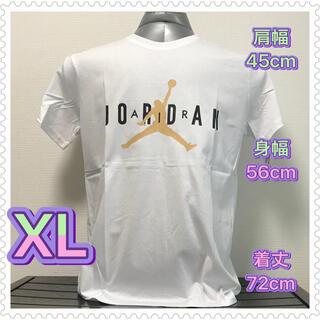 NIKE - 【新品・未使用】Air Jordan Tシャツ XL (タグ有り) ホワイト