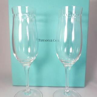 ティファニー(Tiffany & Co.)の【新品】TIFFANY/ティファニー ワイングラス ペア 箱入り[g505-3](グラス/カップ)