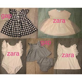 ZARA KIDS - 女の子 子供服 12〜18ヶ月 86㎝ まとめ売り zara kids、gap