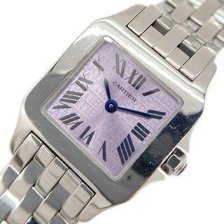 Cartier - カルティエ Cartier サントスドゥモワゼルSM 腕時計 レディー【中古】