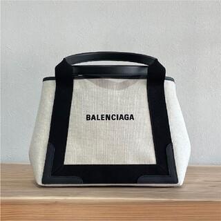 Balenciaga - BALENCIAGA バレンシアガ トートバッグ ネイビー カバス Sサイズ