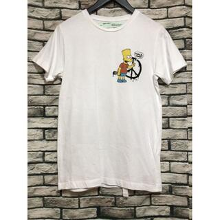 OFF-WHITE - オフホワイト×シンプソンズ★19SS  バックアロープリントTシャツ
