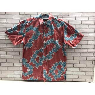 コストコ(コストコ)の【新品】US-L/COOKE STREET アロハシャツ メンズ レッド(シャツ)