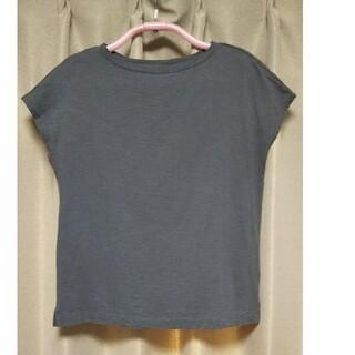 MUJI (無印良品) - 無印良品◇ムラ糸天竺編みフレンチスリーブTシャツ◇半袖